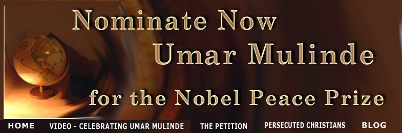 Nominate Now Umar Mulinde for the Nobel Peace Prize